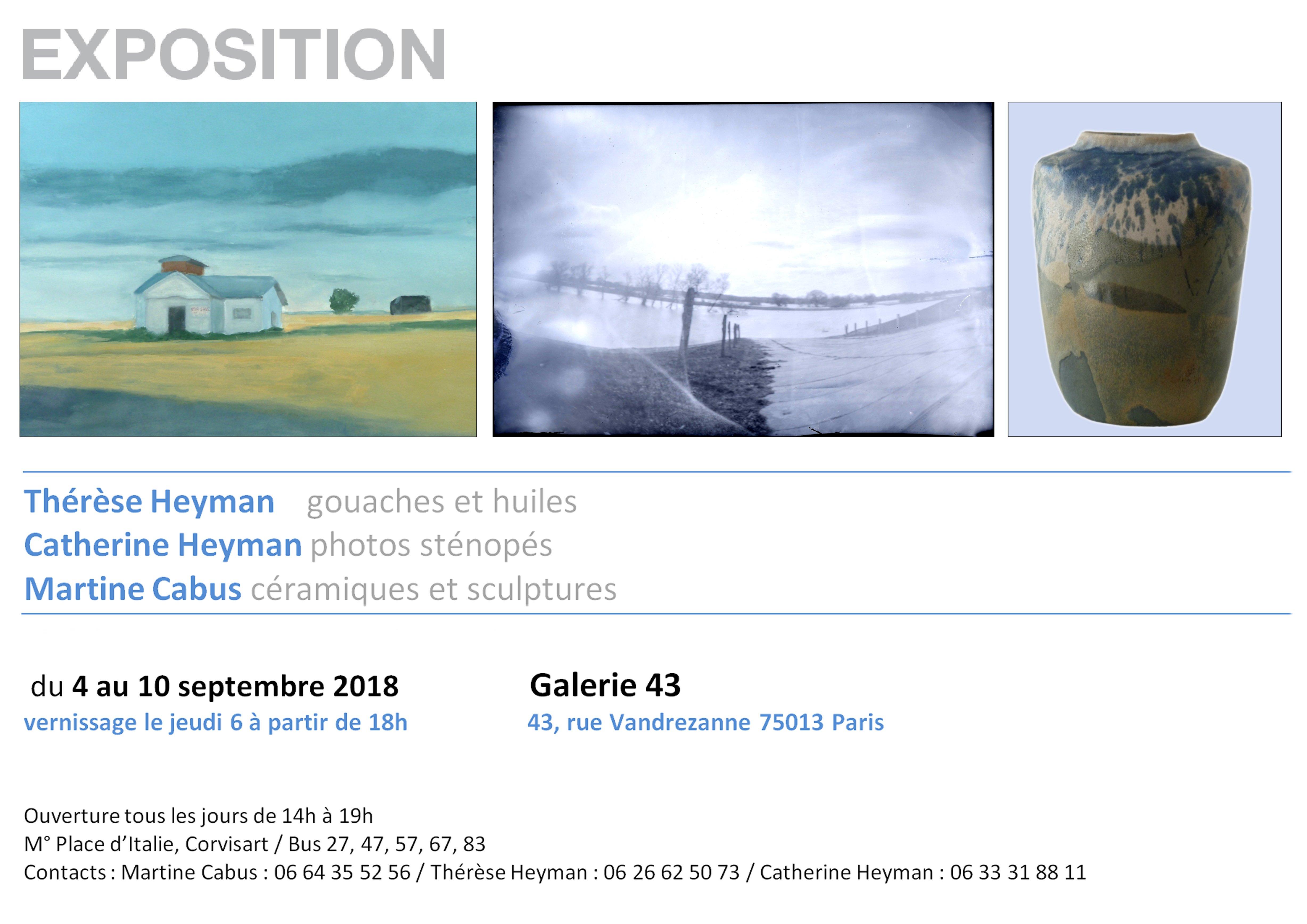 Exposition Catherine Heyman